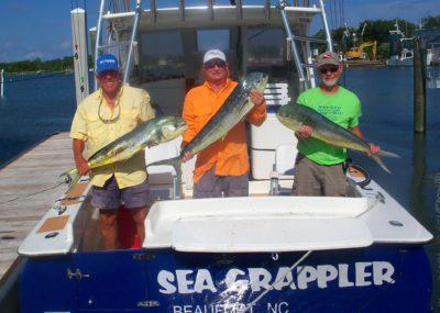 sea grappler beaufort charters